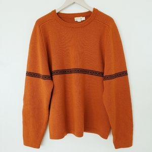 J. Crew Vintage Tribal Label Wool Sweater